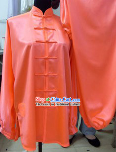 Traditional Chinese Silk Kung Fu Tai Chi Uniform