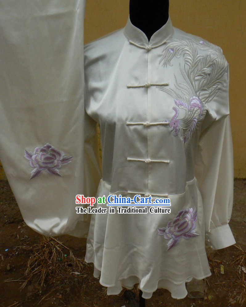 Traditional China Phoenix Kung Fu Uniforms for Women