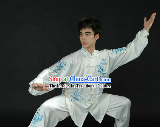 Traditional Chinese Taiji Kung Fu Clothing for Men