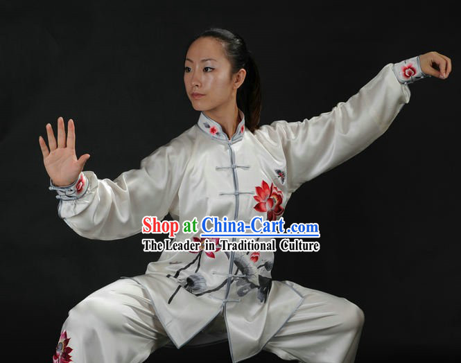 Traditional Chinese Taiji Kung Fu Clothing for Women
