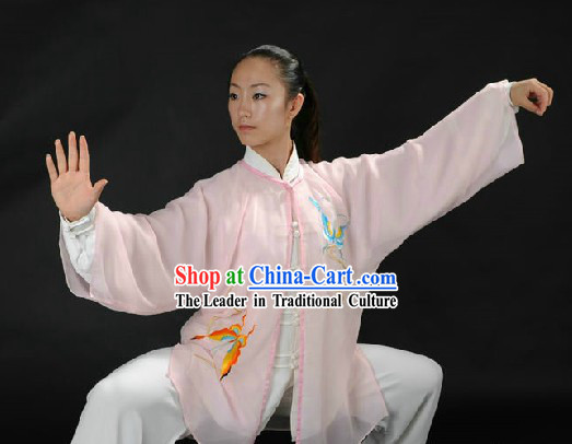 Traditional Chinese Tai Chi Kung Fu Clothes and Veil