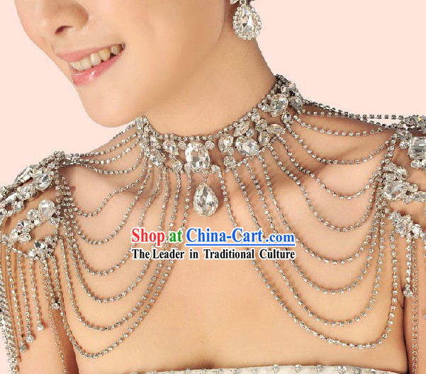 Chinese Classic Bridal Wedding Shoulder Accessories