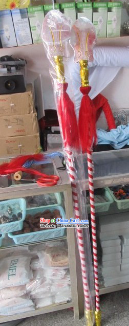 Traditional Chinese Beijing Opera Long Spear