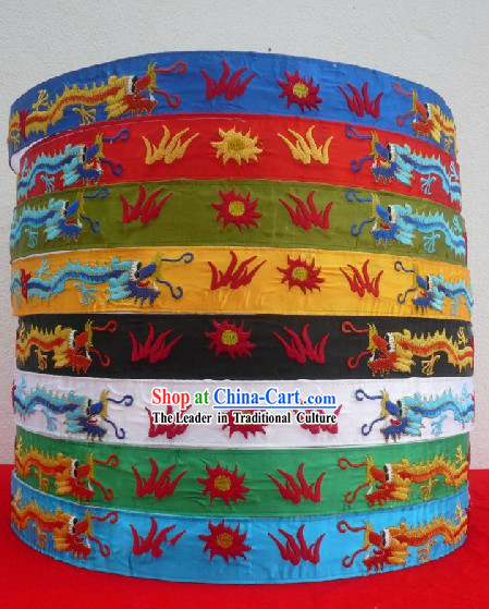 Traditional Chinese Opera Dragon Embroidery Belt