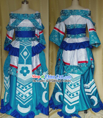 Chinese Ancient Princess Costumes Cosplay Complete Set