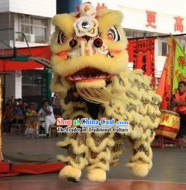 Traditional Chinese New Year Lion Dance Costume Complete Set