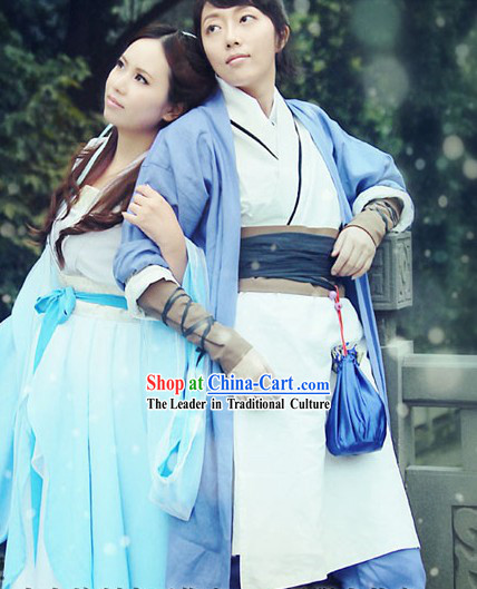 Xuan Yuan Jian Tian Zhi Hen Duan Da Swordman Costume for Men