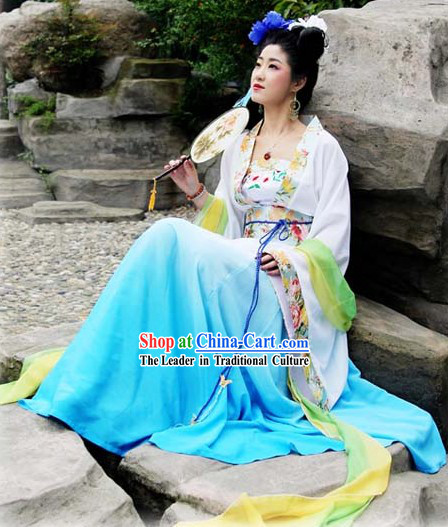 Ancient Chinese Film TV Drama Prostitute Costumes for Women