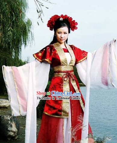 Ancient Chinese Fairy Legend Clothing for Women