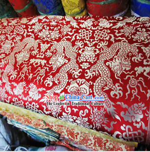 Traditional Chinese Tibetan Clothes Fabric