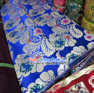 Traditional Chinese Tibetan Style Window Curtains Fabric