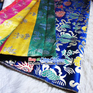 Traditional Chinese Tibetan Style Decorative Fabric