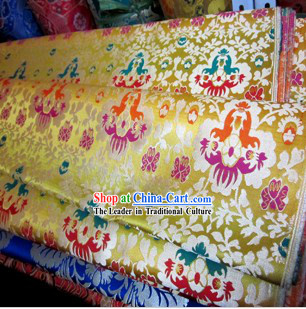 Traditional Chinese Tibetan Minority Fabric