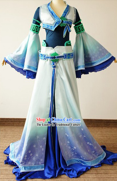 Ancient Chinese Fairy Cosplay Costumes Complete Set