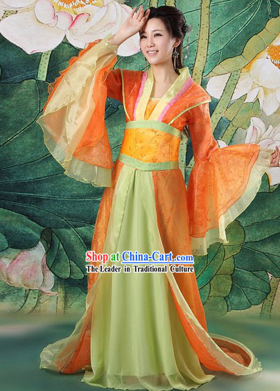 Ancient Chinese Tang Dynasty Dresses for Women