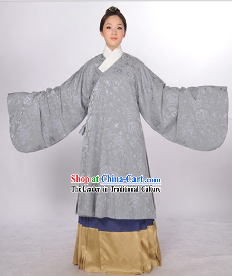 Ancient Chinese Ming Dynasty Jacket and Skirt for Girls