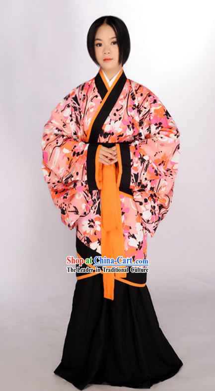 Ancient Chinese Big Sleeves Female Outfits for Women