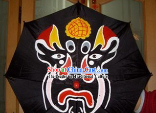 Traditional Chinese Mask Changing Umbrella Prop