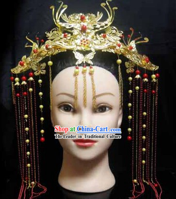 Traditional Chinese Phoenix Headpieces