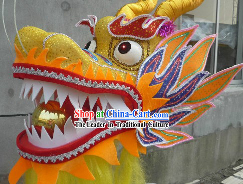 Size No. 6 Dragon Dance Head for Kindergarten Kids