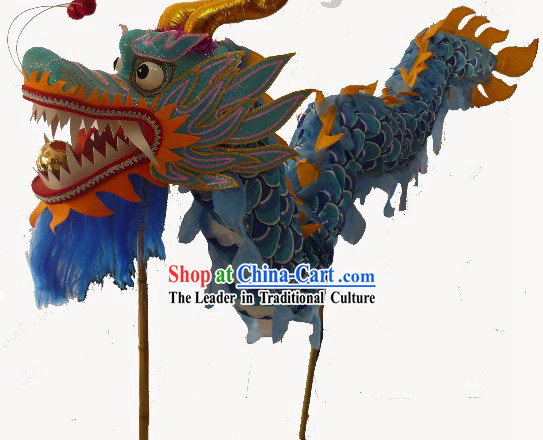 Traditional Chinese Dragon Dance Costumes for Three or Four Adults