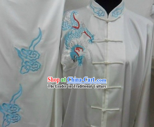 Silk Kung Fu Martial Arts Wing Chun Tai Chi Uniform Clothes Suit