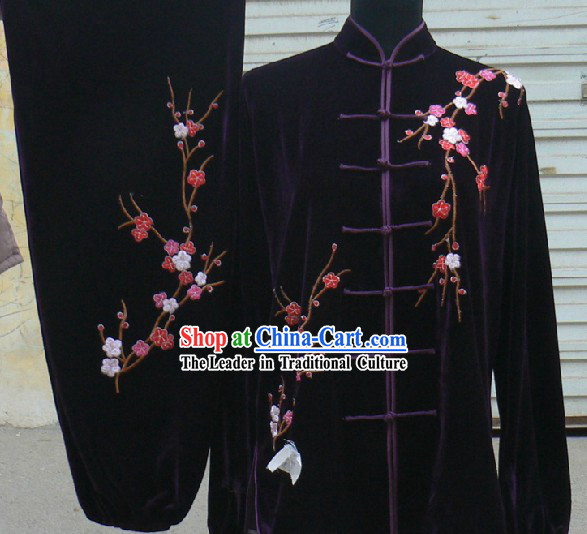 Black Silk Yong Wing Chun Clothes Unisex