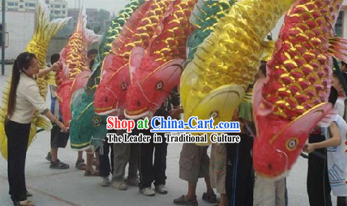 Traditional Chinese New Year Fish Carp Prop