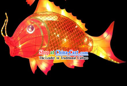 Traditional Chinese New Year Fish Carp Lamps