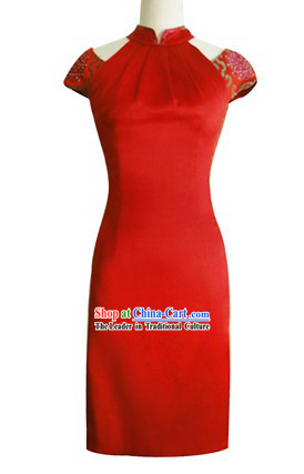New Chinese Style Evening Dress Ball Cheongsam Qipao