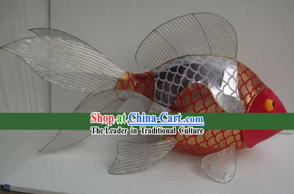 Traditional Chinese New Year Goldfish Carp Lanterns
