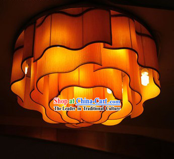 Handmade Chinese Big Ocean Flower Cloud Lantern Set