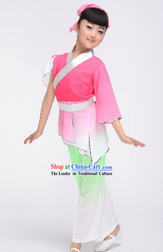 Ancient Chinese School Student Hanfu Clothes for Children