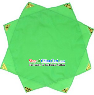 Traditional Chinese Green Dance Handkerchief