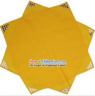 Traditional Chinese Yellow Folk Dance Handkerchief