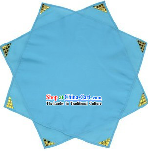 Traditional Chinese Blue Dancing Handkerchief