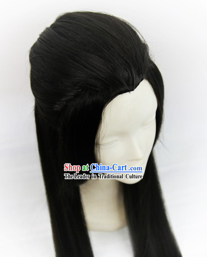Ancient Chinese Male Long Wig