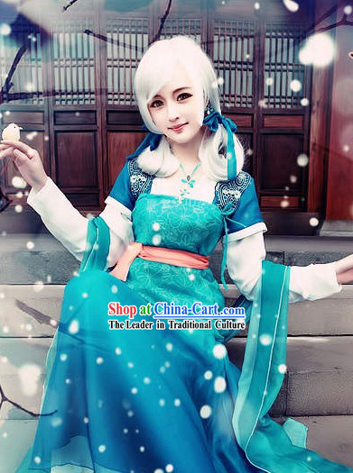 Ancient Chinese Female Cosplay Calliver Costumes for Women