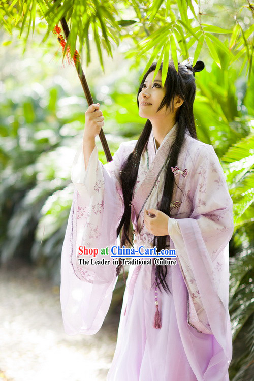 Ancient Chinese Best Years Youth Costumes for Men