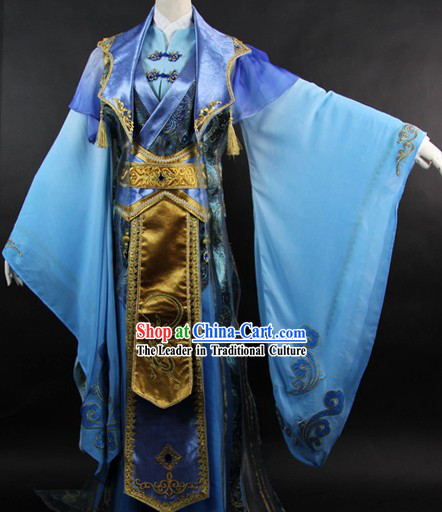 Ancient Chinese Legend Jiang Hu Prince Costumes for Men