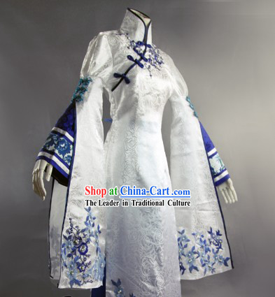 Traditional Ancient Chinese Princess Costumes Complete Set for Women