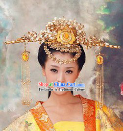 Chinese Ancient Phoenix Coronet Wedding Marriage Headdress for Brides