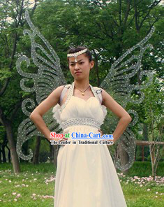 Big Stage Performance Transparent Adult Size Butterfly Wings