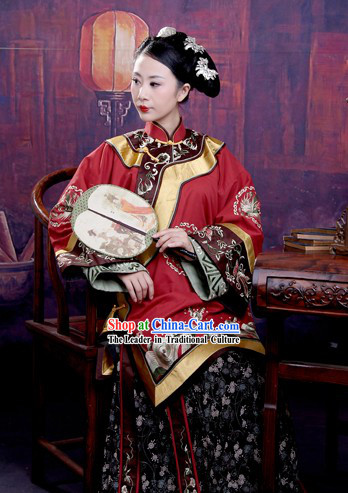 Ming Dynasty Minguo Style Wife Clothes for Women