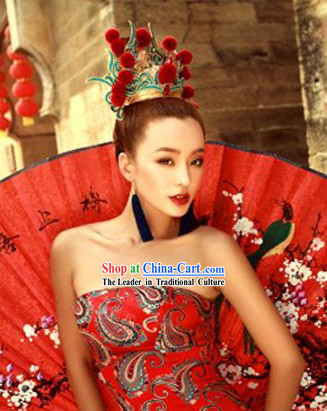 Traditional Chinese Rose Crown