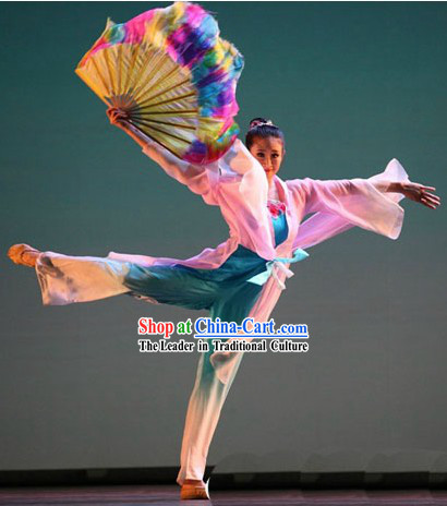 Shan Wu Dan Qing Traditional Dance Fans