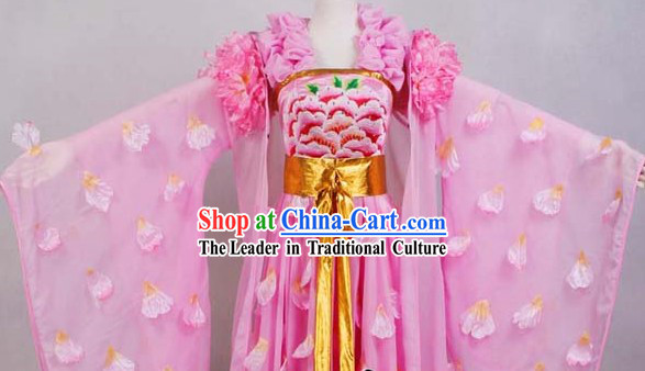 Tang Dynasty Imperial Palace Empress Costumes Complete Set