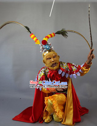 Qi Tian Da Sheng Sun Wukong Face Change Costumes Complete Set for Men