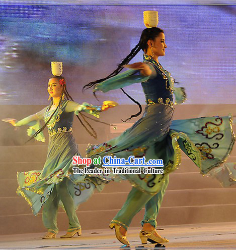 Xinjiang's top Bowl Dance Costumes for Women