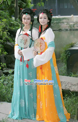 Ancient Chinese Tang Dynasty Imperial Lady Costumes for Women